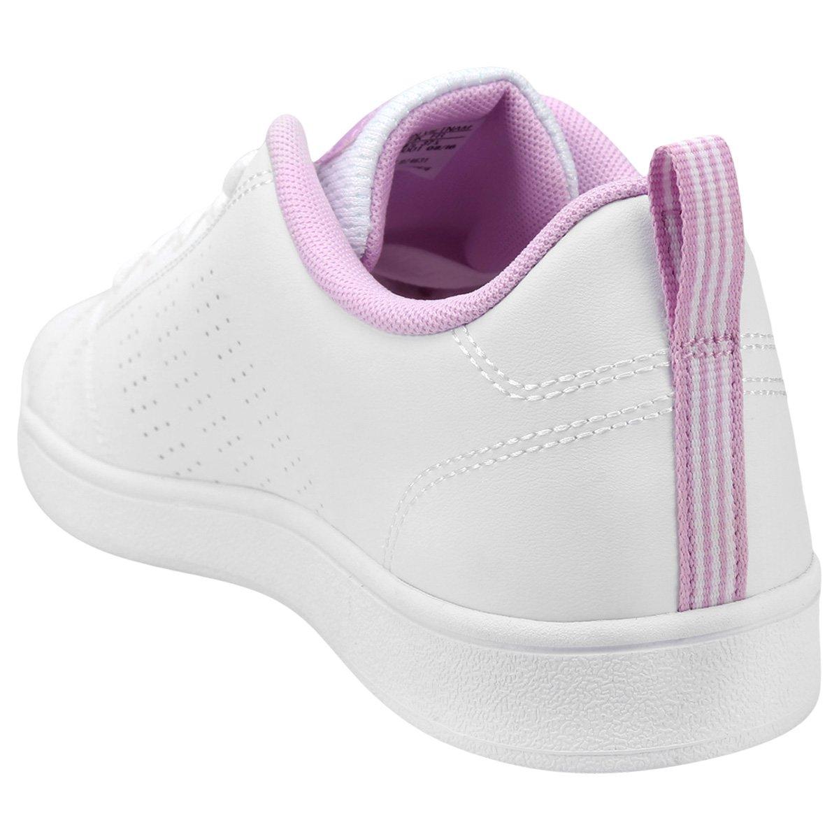 7efdda8344 Tênis Adidas Vs Advantage Clean K Infantil - Branco - Compre Agora ...