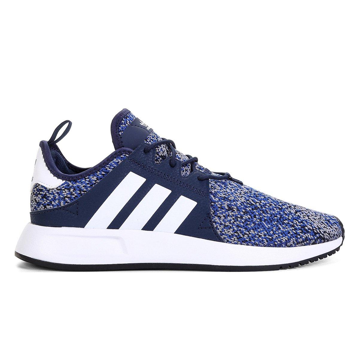 349f6e78357 Tênis Adidas X PLR - Azul e Branco - Compre Agora