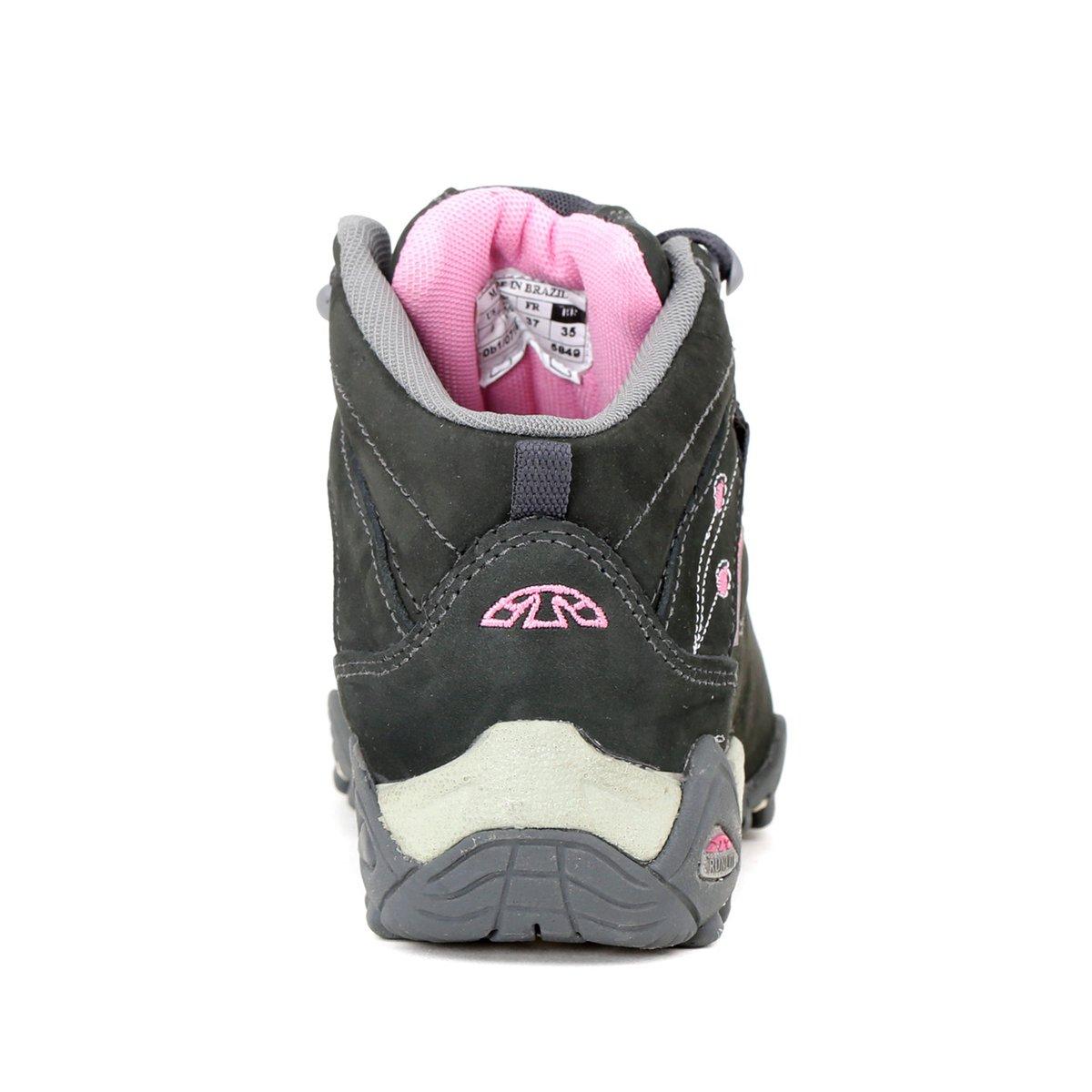 Tênis Adventure Feminino Bull Terrier Funny Cinza rosa - Compre ... eb1048dc40b52