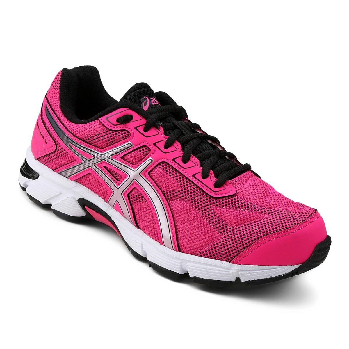 Tênis Asics Gel Impression 9 Feminino - Pink e Preto - Compre Agora . 8334b70ff284c