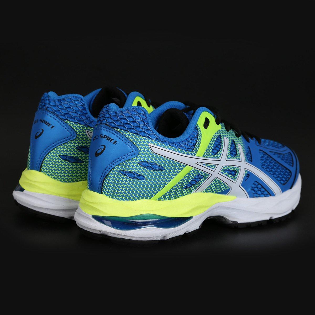 Tênis Asics Gel Spree Masculino - Azul e Branco - Compre Agora  cf4d04a797bf6