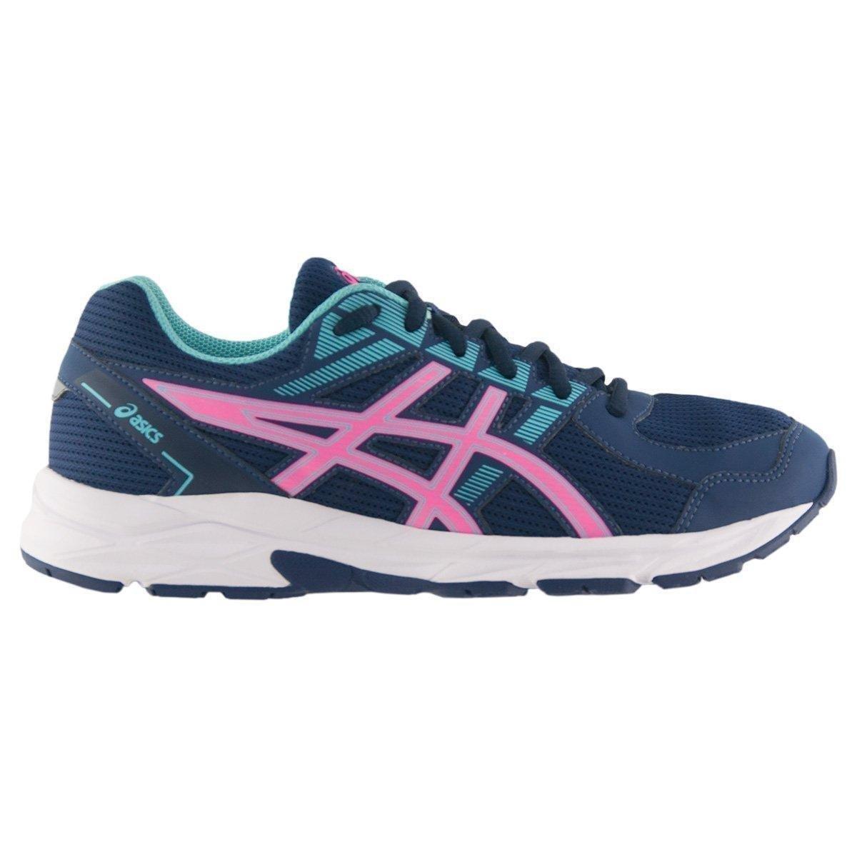 521b318f694 Tênis Asics Raiden Feminino - Marinho e Pink - Compre Agora