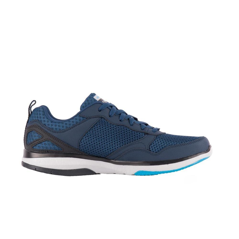 Tênis Burst Tr Halpert - Skechers - Marinho e Azul - Compre Agora ... 970097e9401a0