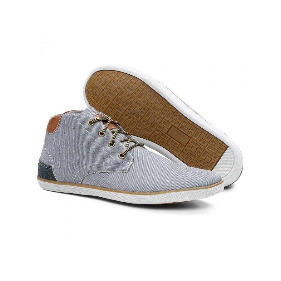 Bonnis Cinza Casual Tênis Youth Tênis Jeans Class Tecido Masculino Casual qX1zw