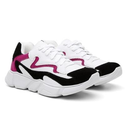 Tênis Chunky Sneaker Casual Feminino-Feminino