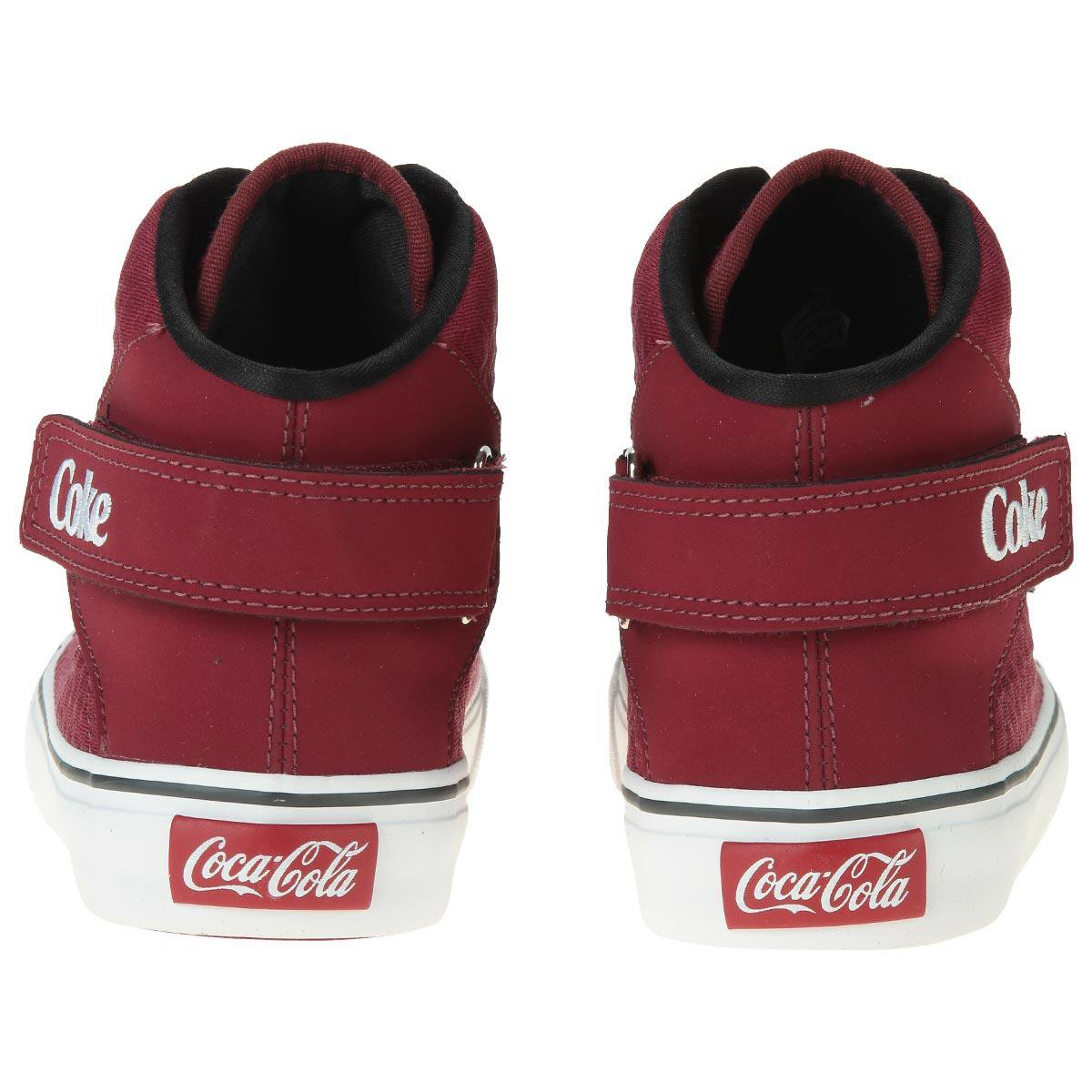Coca Cola Coca Tênis Bordô Shoes Tênis Bordô Shoes Cola dXqwqE4