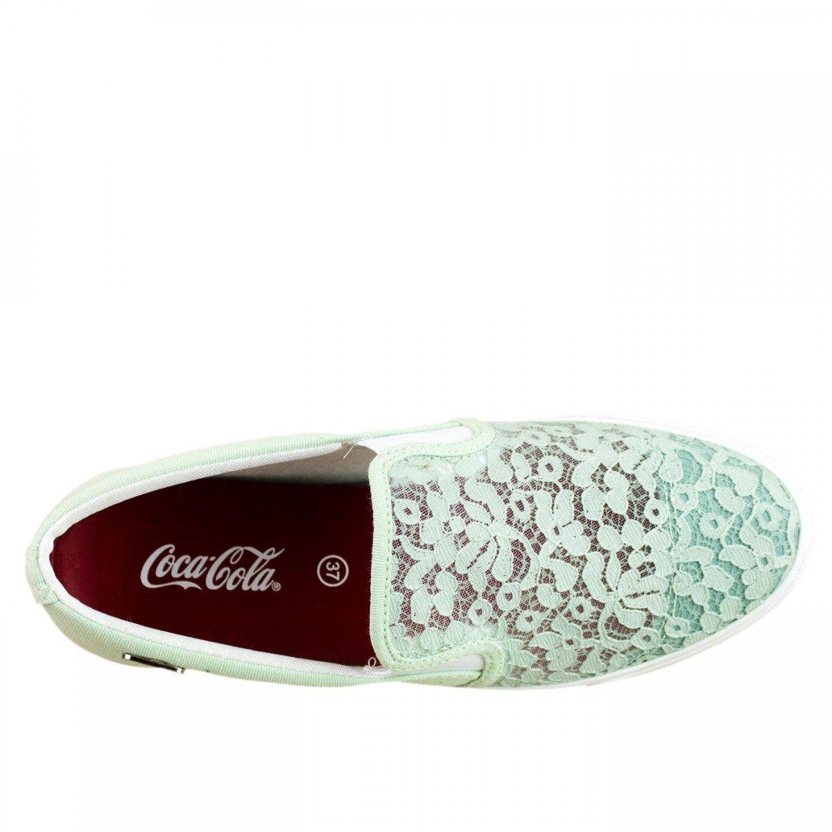 Renda Verde Tênis Coca Sunset Tênis Cola Coca qw0w8ZX