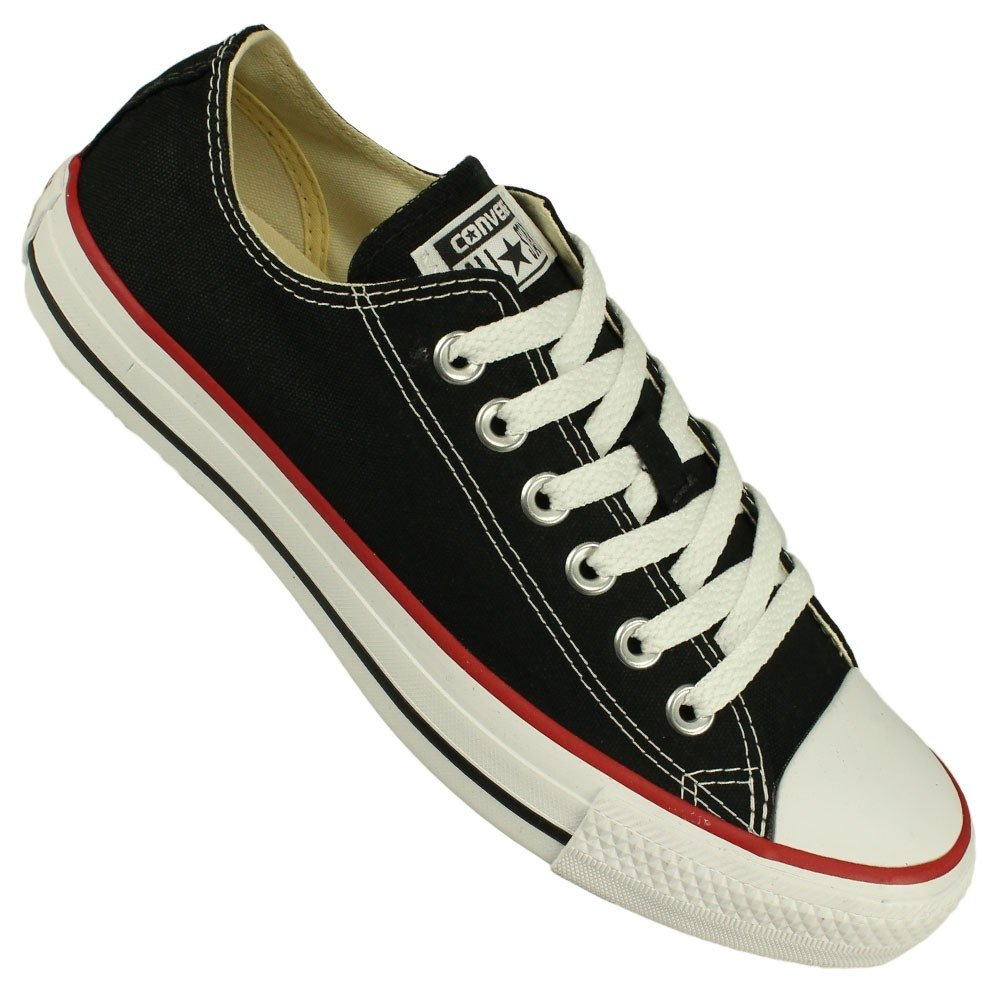 Tênis Converse All Star Ct As Core Ox - Preto e Branco - Compre ... 0a8367791915a