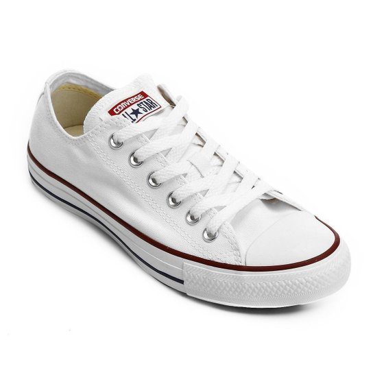 Unravel metti avanti Dollaro  Tênis Converse All Star Ct As Core Ox - Off White e Vermelho | Zattini