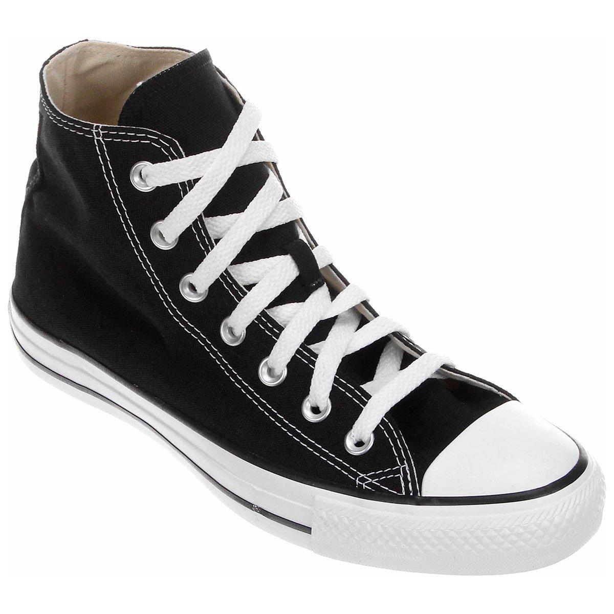 all star converse preto e branco