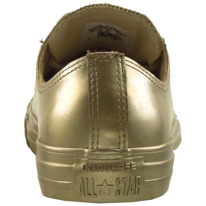 As All Ox Metallic Converse Dourado Ct Tênis Rubber Star 5CIwWf