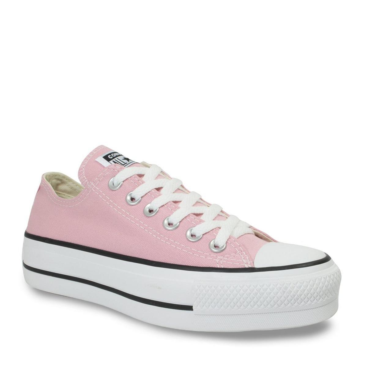 super barato mais fotos a venda de sapatos all star rosinha
