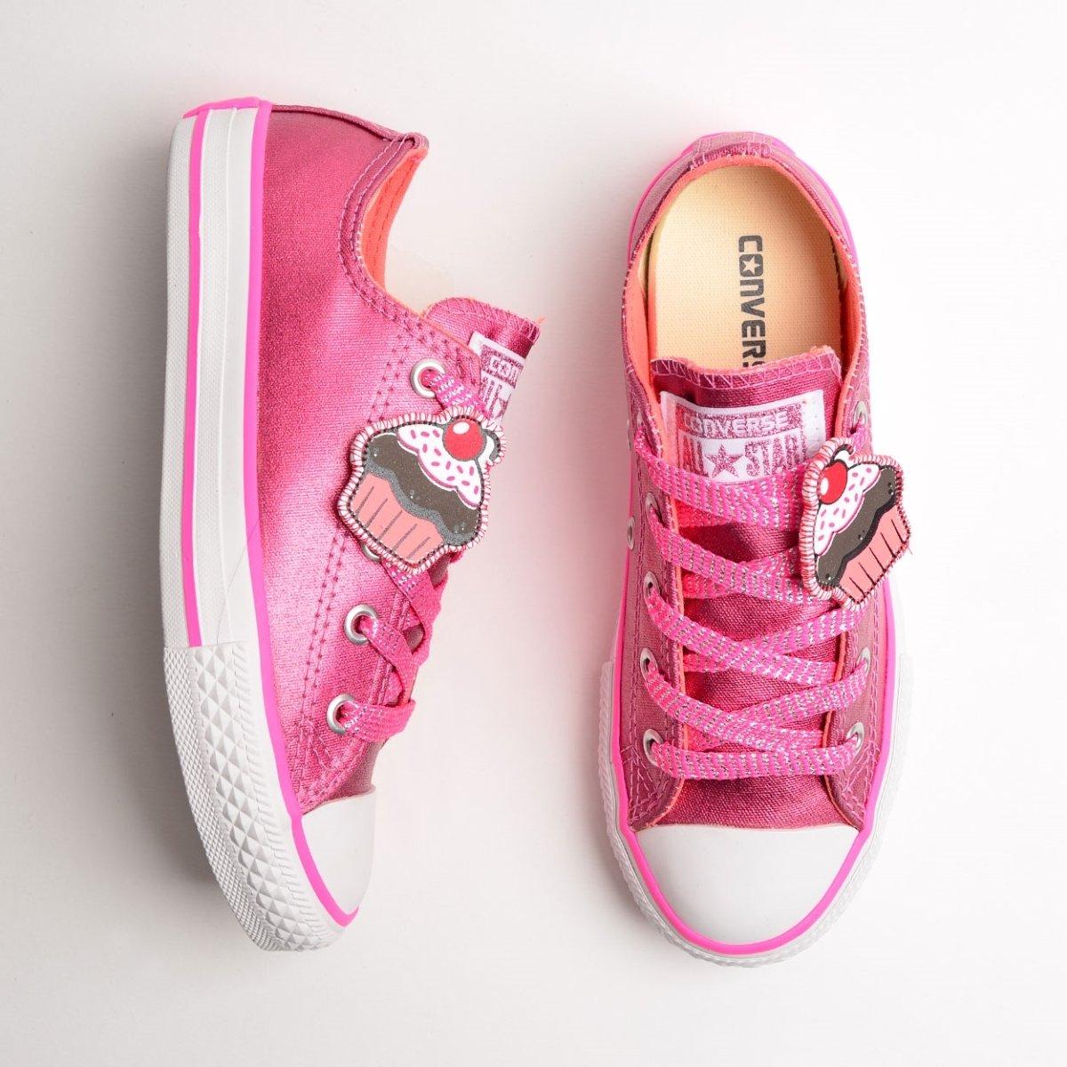 cebea789a Tênis Converse Chuck Taylor All Star Kids Rosa Ch - Compre Agora ...