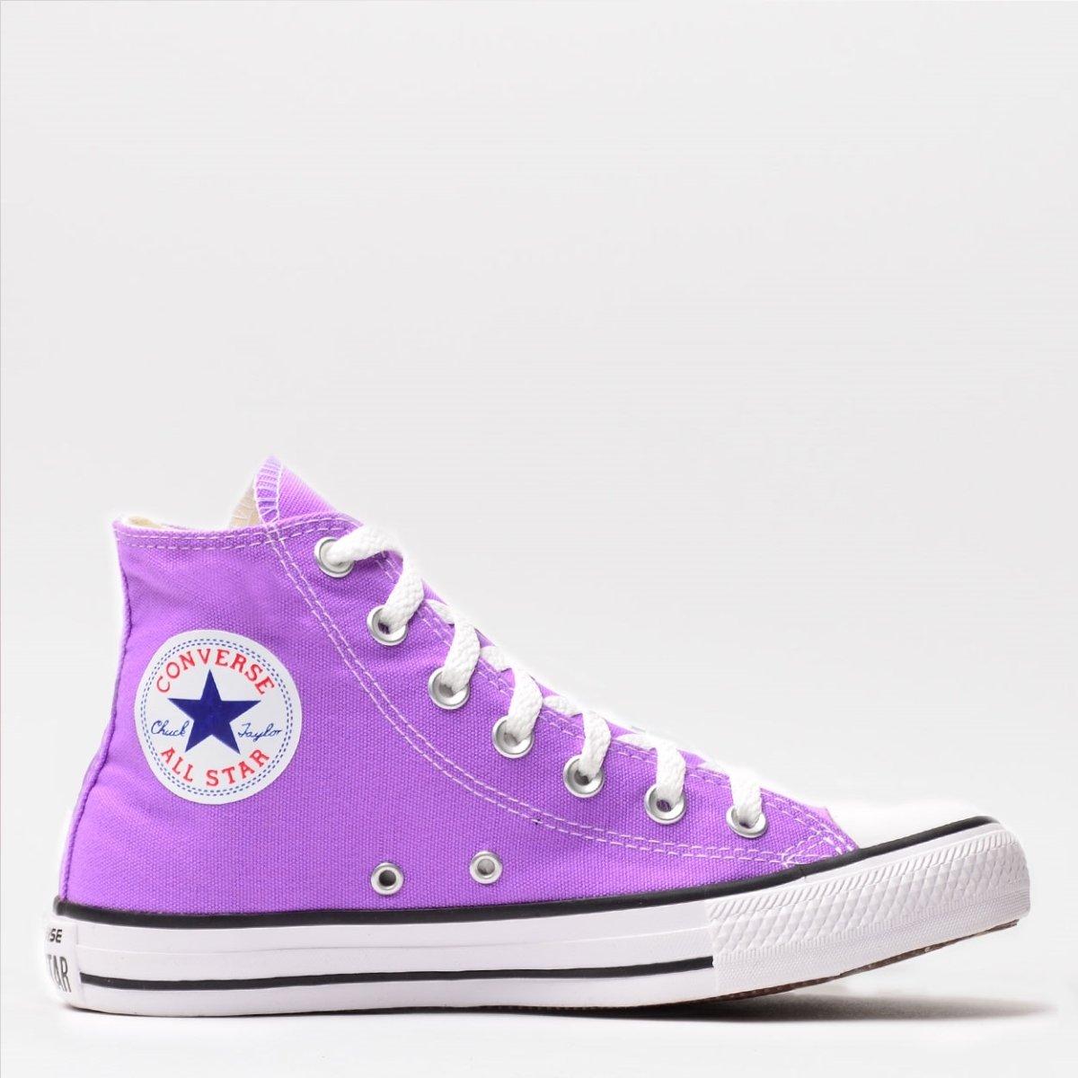 8aa880d9e3 Chuck Taylor Tênis Star Converse Tênis Converse All Violeta gwq6vStq ...