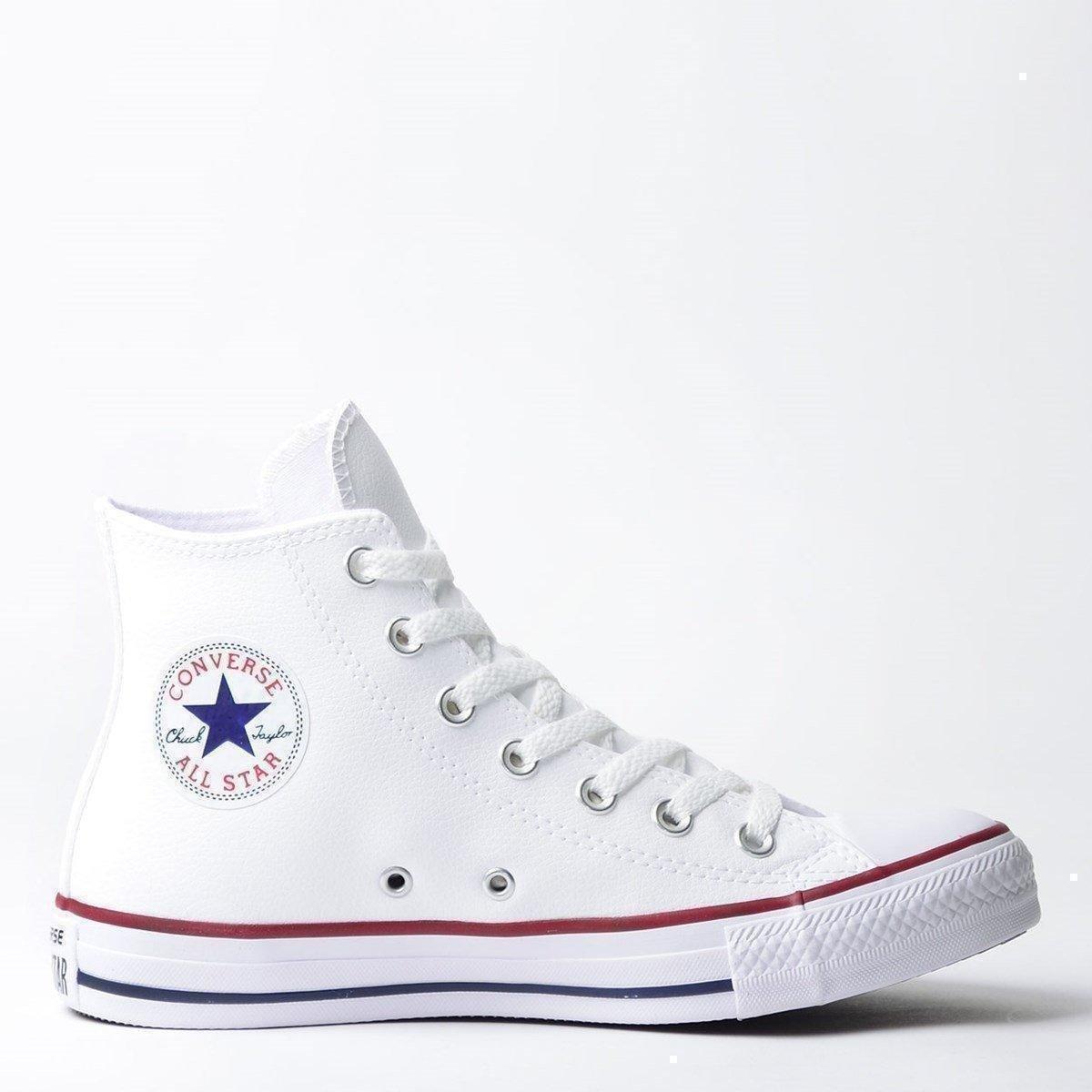 e666e71199 Tênis Converse Vermelho Star All Taylor e Tênis Chuck Branco Converse  wZ6dEqCw ...