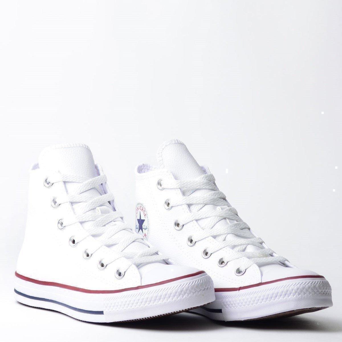 Tênis Converse Chuck Taylor All Star Branco e Vermelho