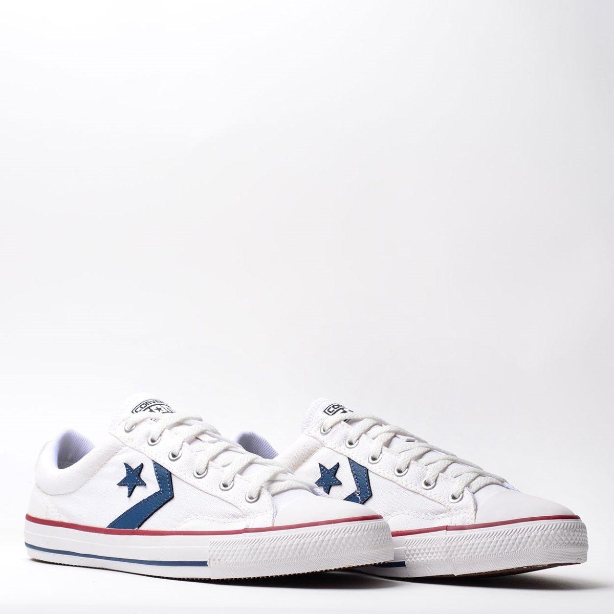 Vermelho Branco Tênis e CO0136 Converse Branco Star Player Vermelho xxAFC4B