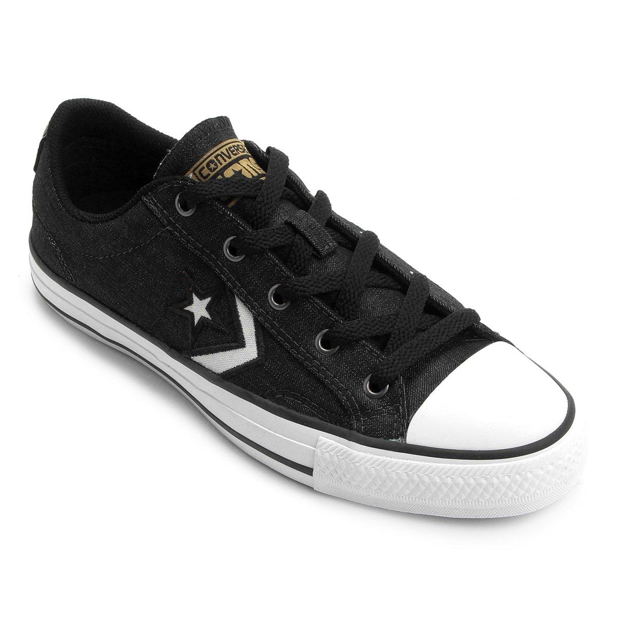 Tênis Converse Star Player Jeans Ev Ox | Zattini