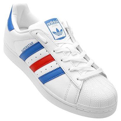 tênis adidas superstar ps infantil beaee38cac