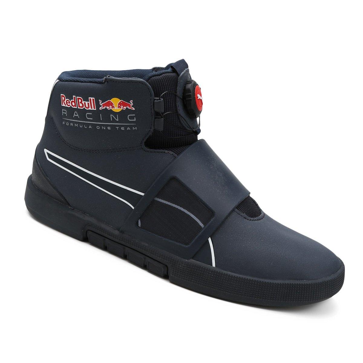 Tênis Couro Cano Alto Puma Disc Red Bull Racing Wssp - Compre Agora ... 5ce0541da5da9