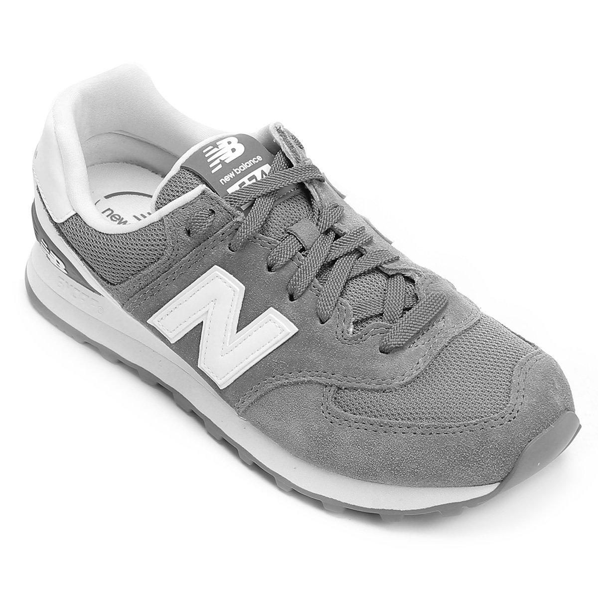 11a34e3049bc Tênis Couro New Balance 574 Cny - Hi Viz Masculino - Compre Agora ...