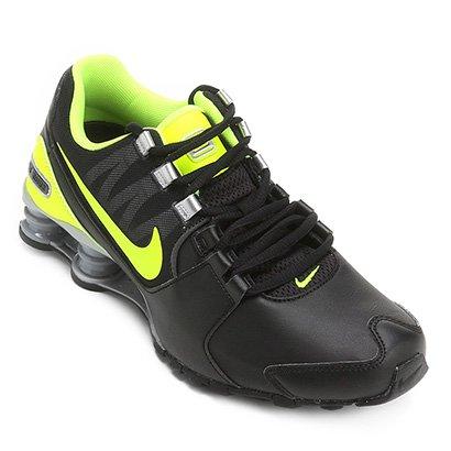 Tênis Couro Nike Shox Avenue LTR Masculino