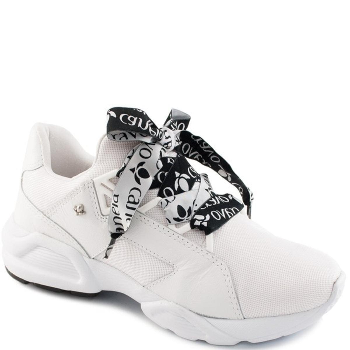 6f0f74811c Tênis Canela Feminino Cravo Tênis Chunky Sneaker Cravo e Dad Branco RHdSpq  ...