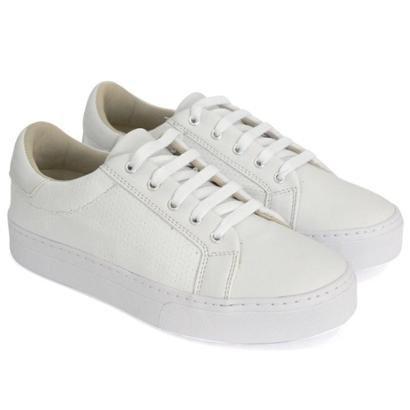 Tênis Dali Shoes Básico Cadarço Feminino-Feminino