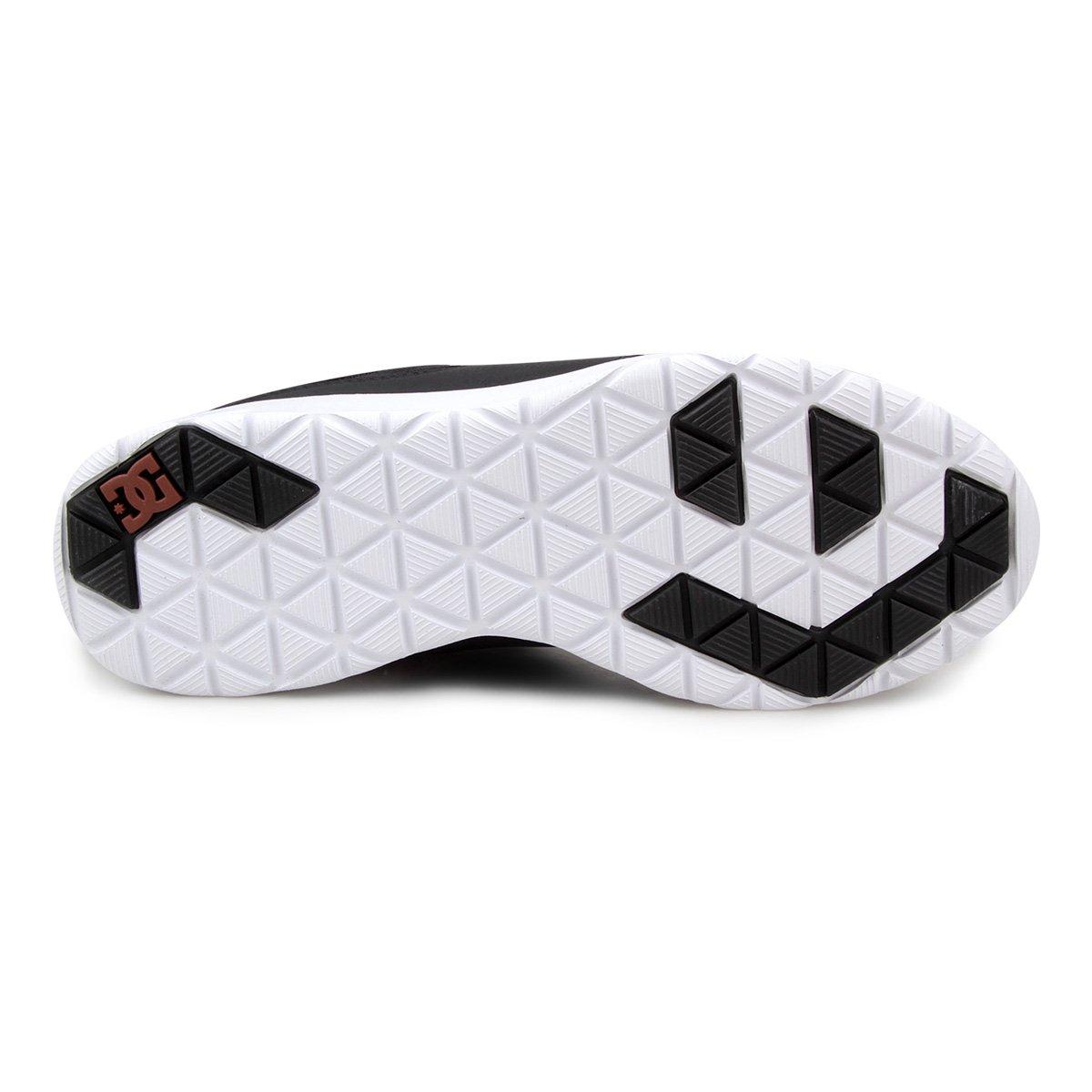 Tênis DC Shoes Heathrow Prestige Masculino - Preto e Branco - Compre ... 7d271243cb5b2