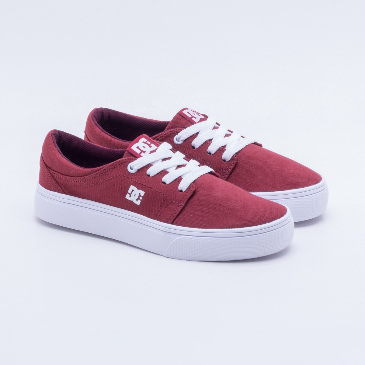 Shoes TX Trase Feminino Tênis DC Tênis W Vermelho DC Oqp1Z