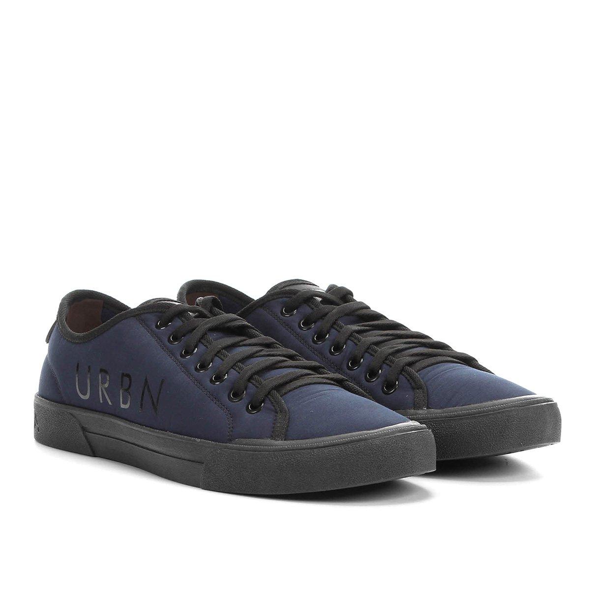 773087f5296 Tênis Democrata Básico Urban Beat Masculino - Azul e Preto - Compre Agora