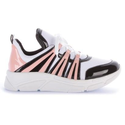Tênis Di Valentini Runner Sneaker  Verniz Feminino-Feminino