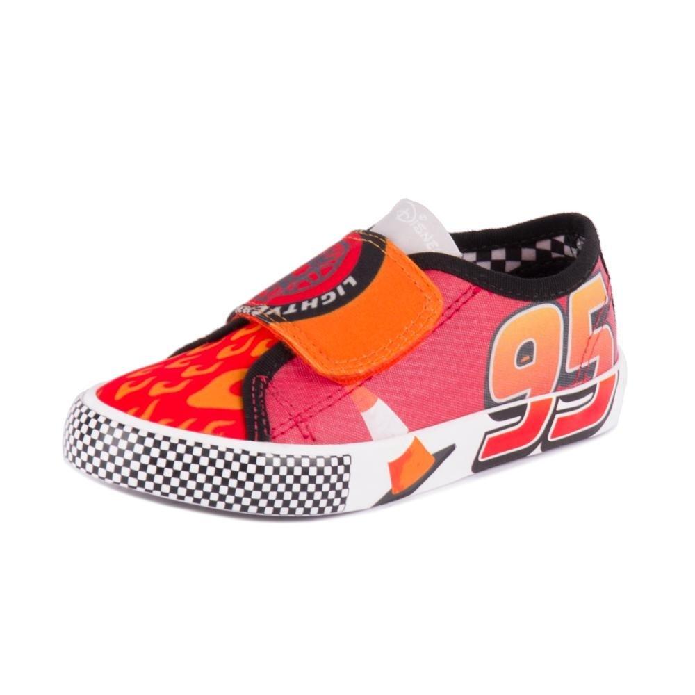 Em Disney Tênis Vermelho Carros Tênis Disney Velcro OPaqIw1