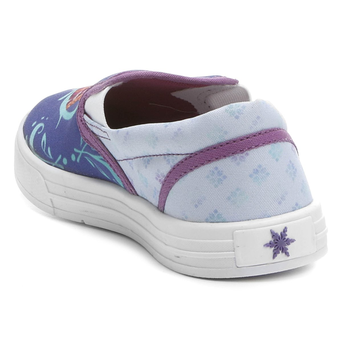 Tênis Disney Iate Frozen Menina Infantil - Compre Agora  1eede9f54de71