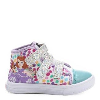 Tênis Disney Sofia Infantil