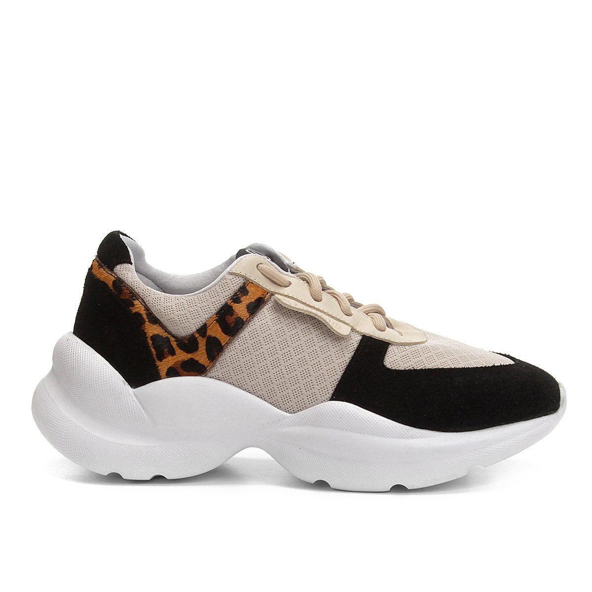 Oncinha Tênis Tênis Preto Chunky Sneaker Dumond Feminino Dumond Detalhe xPwYawS
