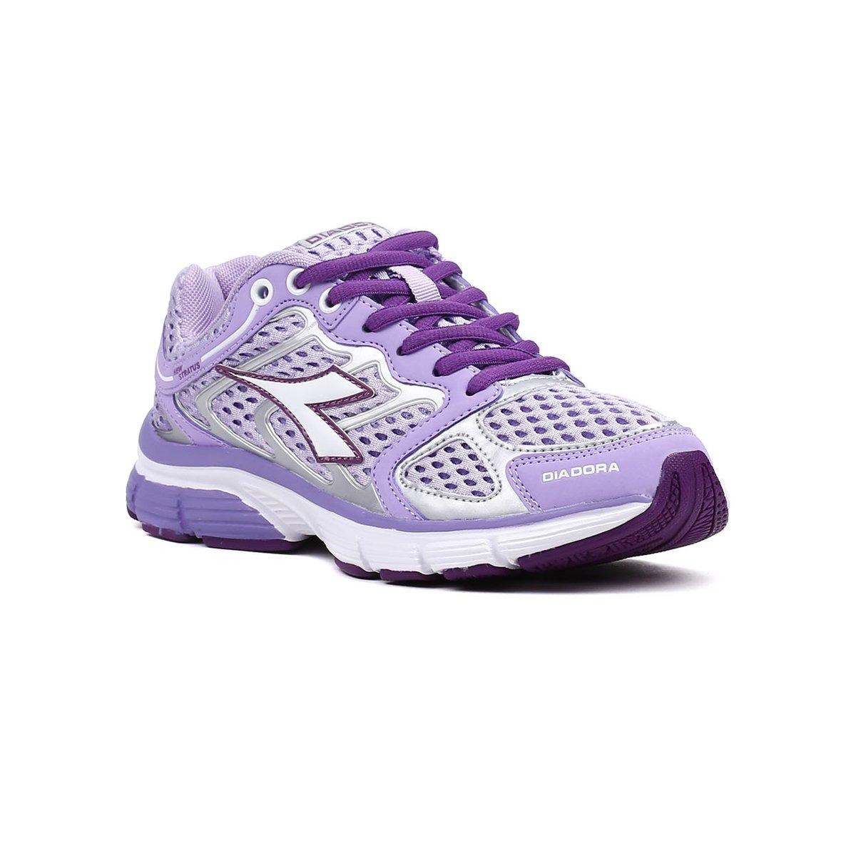 abfd609d408 Tênis Esporte Feminino Diadora New Stratus Lilás - Lilás - Compre Agora