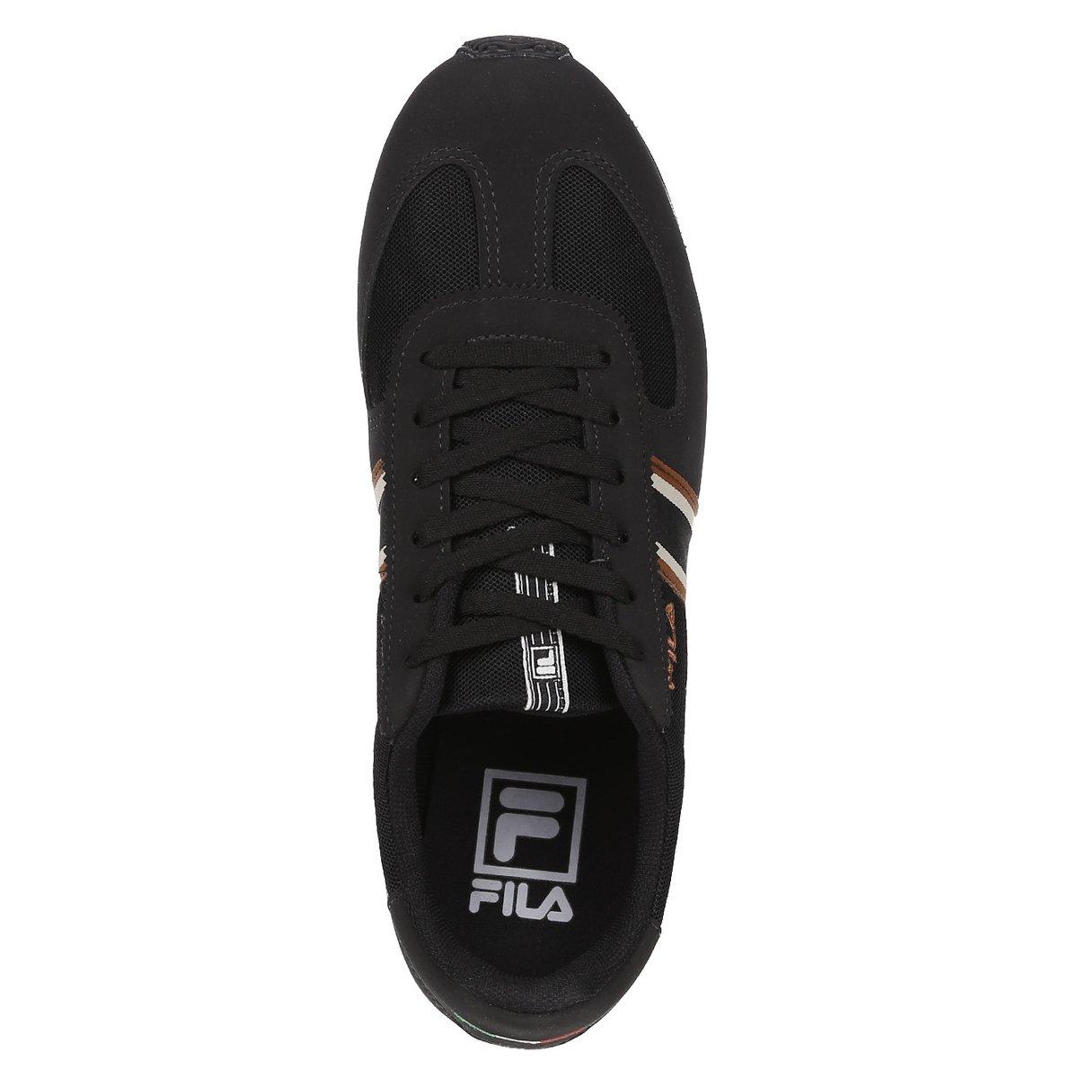 df3b882987 Tênis Esportivo Masculino Fila - Marrom - Compre Agora
