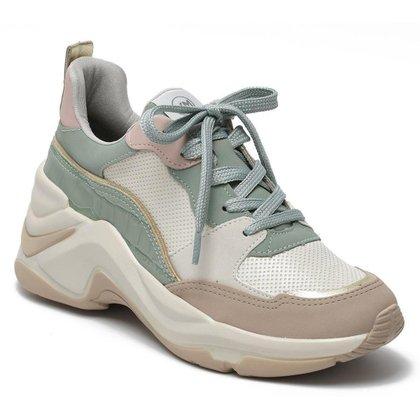 Tenis Feminino Casual Chunky Sneaker Via Marte 20-14634