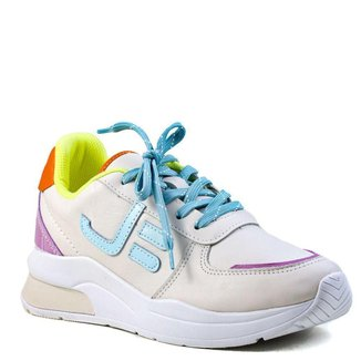 Tênis Feminino Jogging Jorge Bischoff  Candy Colors