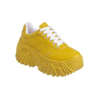 Tênis Femino Lumiss Blogueira Sola Alta Moda Sneaker Chunky