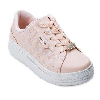 Tênis Flatform Pink Cats Juvenil PC21-V2083