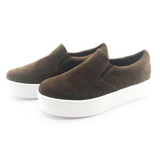 Tênis Flatform Quality Shoes Camurça Feminino