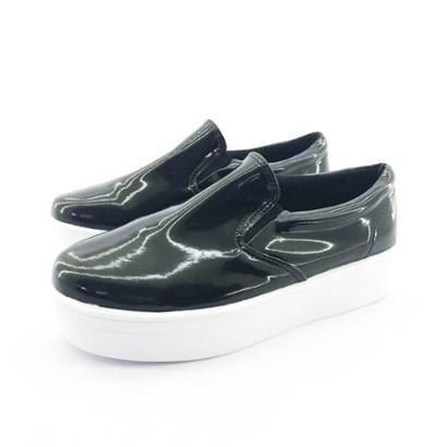 Tênis Flatform Quality Shoes Verniz Feminino