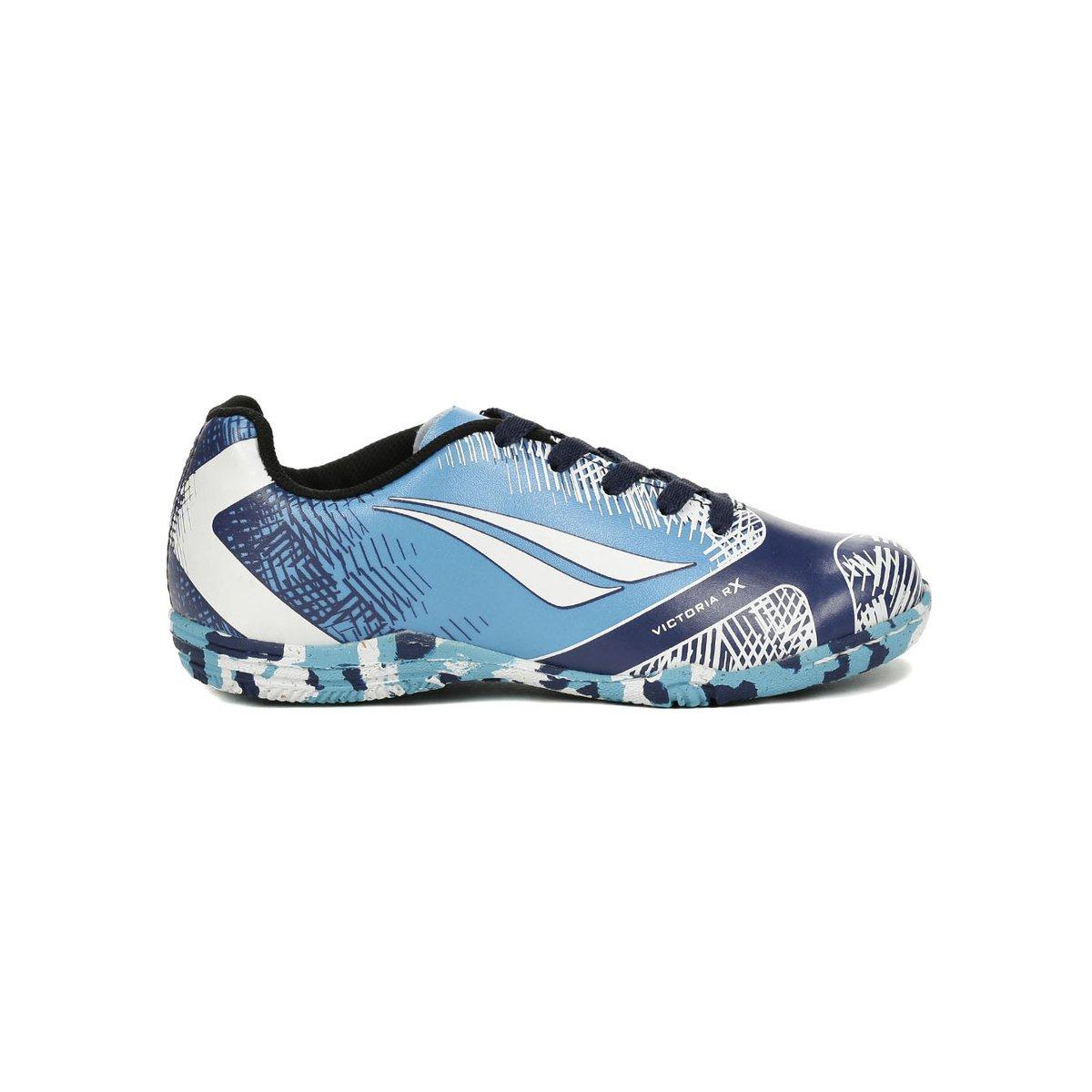c81a41ffc3 ... Tênis Futsal Infantil Para Menino - Penalty Azul marinho branco ...
