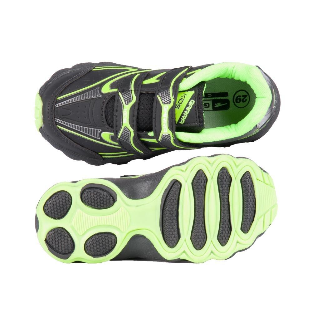 Tênis e verde Garra Tênis Running Garra Tênis Garra Preto Preto e Running e verde Preto Running rXASqBr