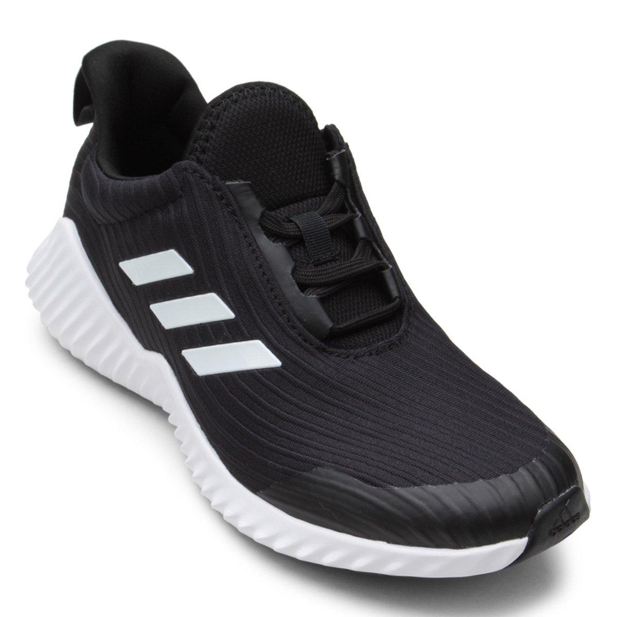 Tênis Infantil Adidas Fortarun 2 K Preto e Branco