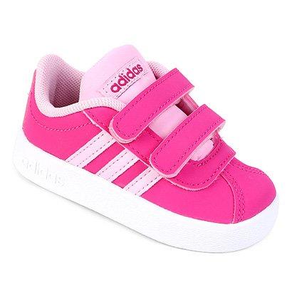 Tênis Infantil Adidas Velcro VL Court