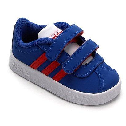 Tênis Infantil Adidas Vl Court 20 Cmf Velcro