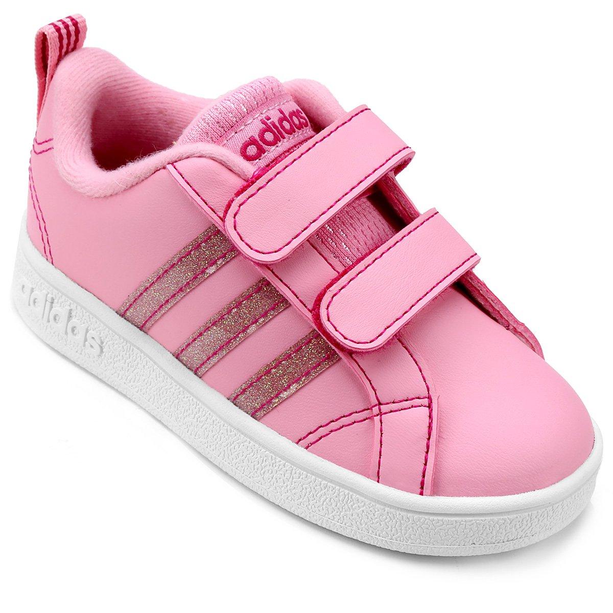 Tênis Infantil Adidas Vs Advantage Cmf - Compre Agora  35339b96ba460